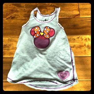 Girls Sunset Minnie Mouse Tank